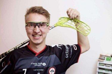 Sportbrille für Floorball