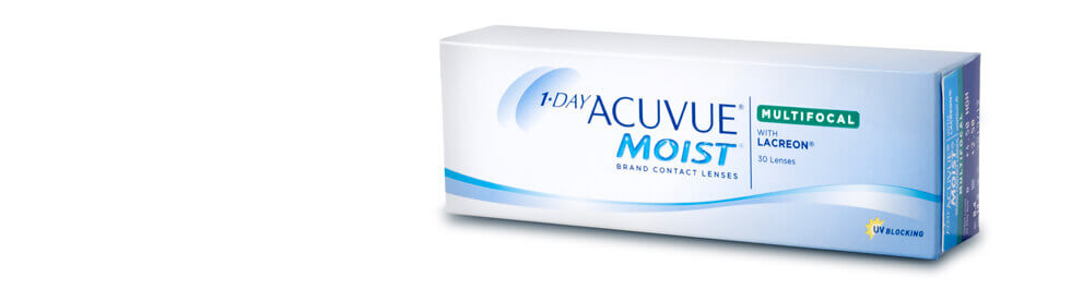 "Multifokale Kontaktlinsen ""1-DAY ACUVUE® MOIST MULTIFOCAL"""