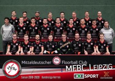 MFBC Leipzig Teamfoto der Bundesliga Herren 2020