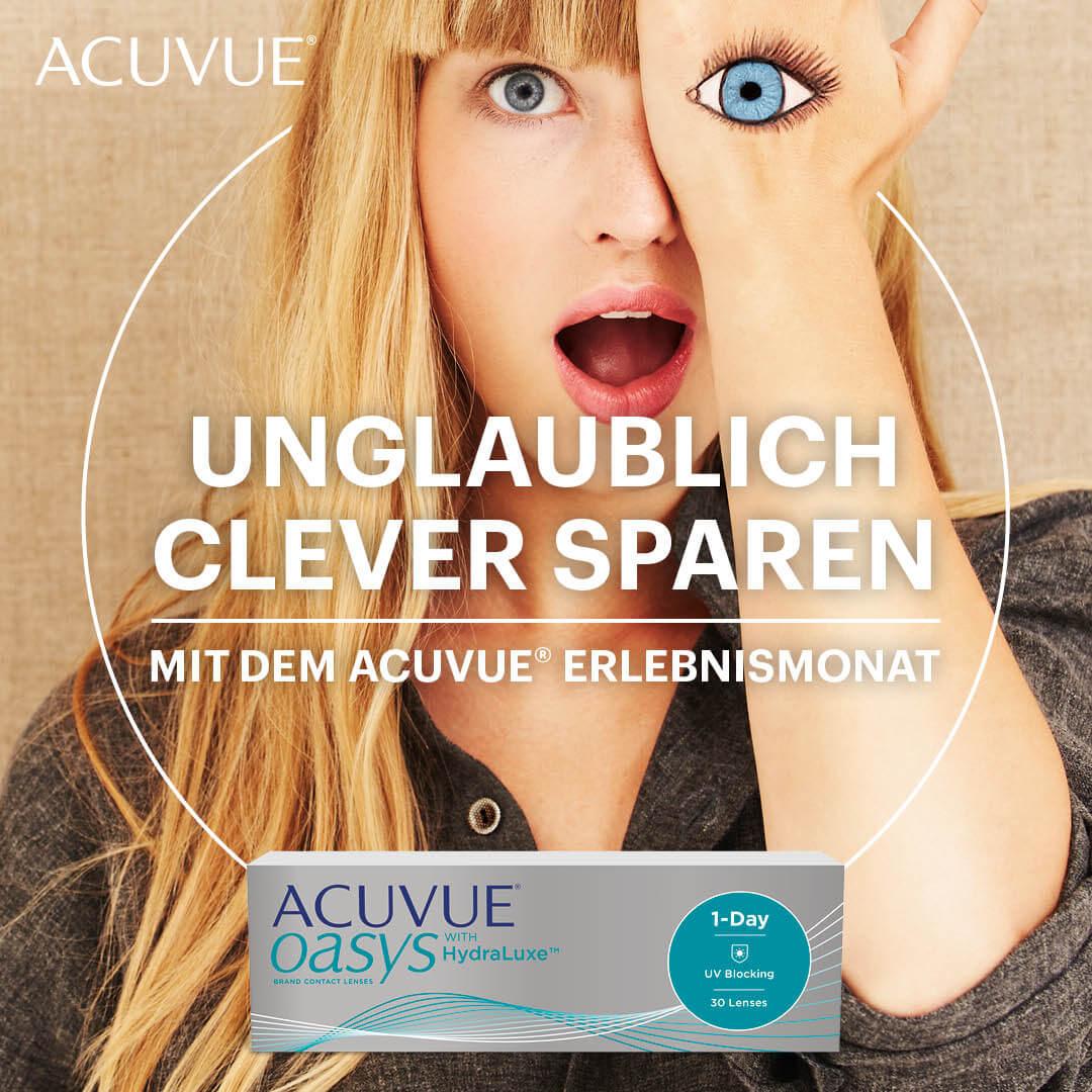 Banner ACUVUE 1-Day Erlebnismonat